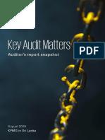 Key Audit Matters Aug 2019