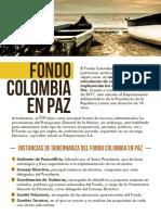 El Fondo Colombia en Paz