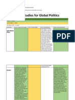 Case Study in Global Politics