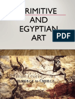 PRIMITIVE AND EGYPTIAN ART