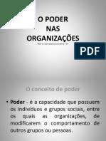 O Poder nas Organizações