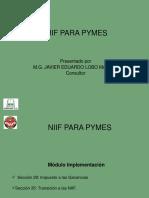 NIIF para pymes Presentación