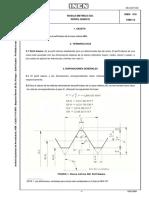 INEN Rosca Metrica ISO Perfil Basico