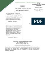 Harte v Commr of Johnson Cty, KS 18-3091 (10th Cir, 4 Oct 2019)