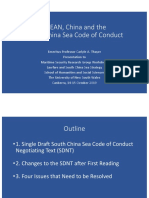 Thayer, ASEAN, China and the South China Sea Code of Conduct