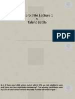 Wipro Lecture 1