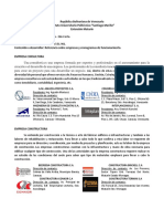 Referencia Empresas Gerencia Proyecto