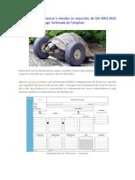 Como Mapear Processos e Atender Os Requisitos Da ISO 9001