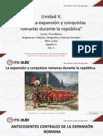 Apunte 3 La Expansion y Conquistas Romanas Durante La Republica
