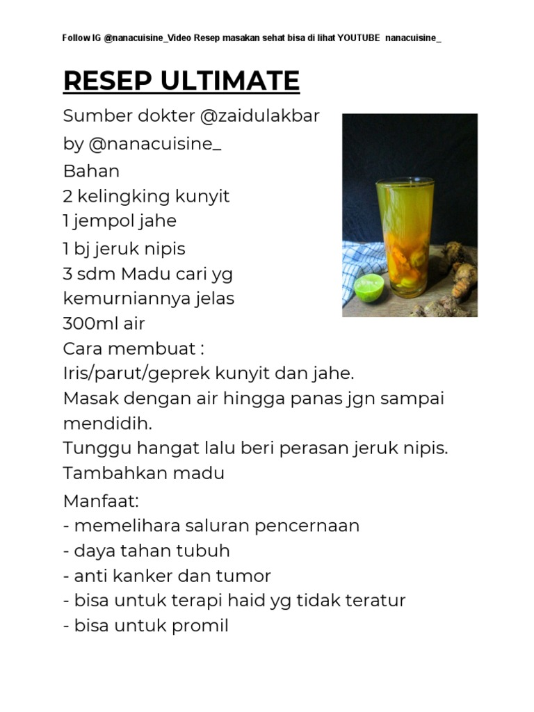 Resep Dan Treatment Jsr Pdf