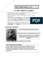 1 - Introduction to Weimar Germany