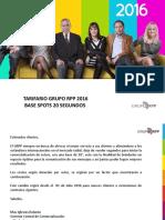 Tarifario Grupo Rpp