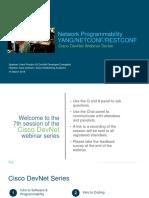 Devnet Session 7 Networkprogrammability Yang Netconf Restconf