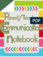 communication notebool