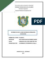 INFORME DE VISITA A OBRA SISTEMA DE IRRIGACIÓN CCACCACHA.