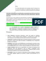 Proceso Administrativo PLANIFICACION