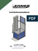 Installationanleitung Alpin 2015