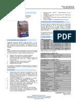 Ft Pegacor Interiores Adhesivo Bajo en Polvo Technical Sheet 901001001