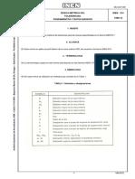 INEN Rosca Metrica ISO Tolerancias
