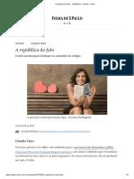 A República Do Falo - 17-05-2019 - Opinião - Folha