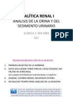ANALITICA RENAL I