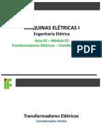 Transformadores - Transformador Ideal