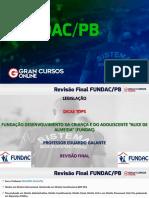 Revisão Final FUNDAC - PB