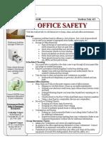 Toolbox Talks Office Safety