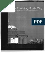 The Evolving Arab City Tradition Modernity
