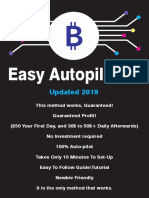 Bitcoin 100$ A Day Autopilot 100%