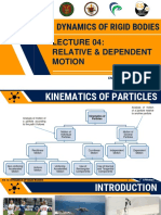 Lec 04 Relative and Dependent Motion