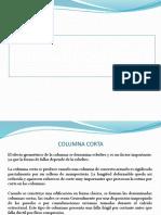 Columna Corta