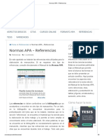 Normas APA – Referencias 2019