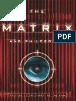 Matrix and Philosophy - William Irwin, Ed