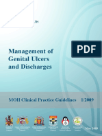 Cpg Management of Genital Ulcers and Discharges