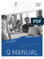 Q Manual, Monash University, 6th Ed (2016)