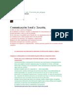 aspectos de la comunicacion