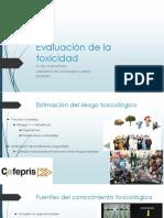 evaluación de la toxicidad.pptx