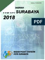 Statistik Daerah Kota Surabaya 2018 r