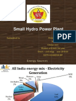 Small Hydro power System