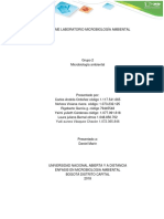 Informe de Laboratorio Microbiologia