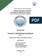 Informe Preparados Galenicos Nro 8