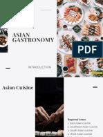Asian Gastronomy - Intro