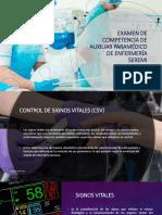 Examen de Competencia de Auxiliar Paramédico de Enfermería n