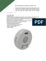 Fichas Tecnicas de Sensores
