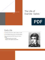 the life of evariste galois