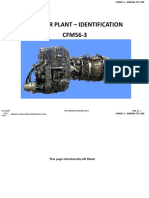 11 - Power Plant - Identification Cfm56-3