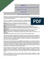 Anexos NFPA 25 EDICION 2008