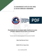 Planteamiento de Un Parque Eólico Marino en La Costa