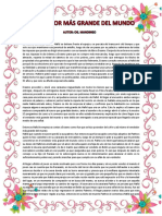Informe Del Vendedor Mas Grande Del Mundo